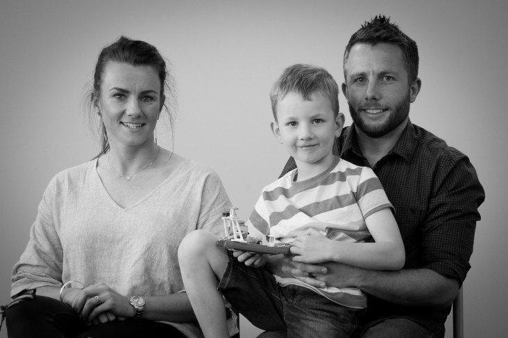Patient story - Blake, Kelly and Craig