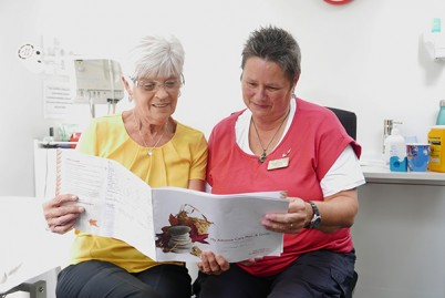 Women reading an Advance Care Plan